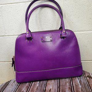 Kate Spade Wellesley Rachelle Purple Purse